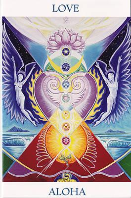 Love  Aloha Art Print by Tulsi Devi Art