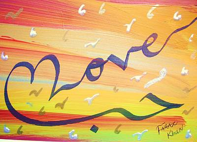 Painting - Love by Faraz Khan