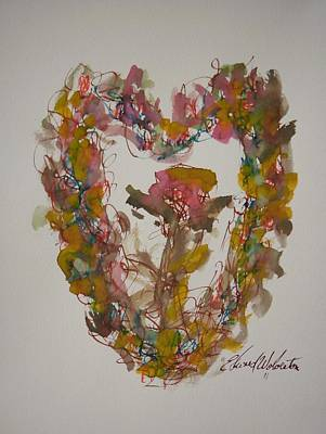 Love Heart Art Print by Edward Wolverton