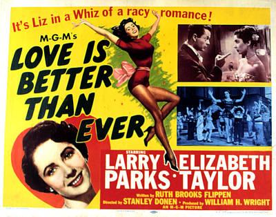 Love Is Better Than Ever, Elizabeth Art Print