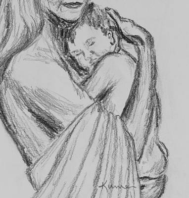 Drawing - Love by Kume Bryant