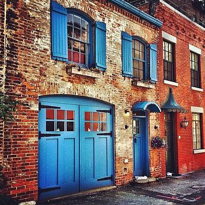 House Photograph - Love Lane - Brooklyn - New York City by Vivienne Gucwa