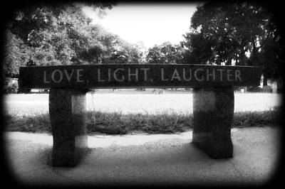 Photograph - Love Light Laughter by Mandy Shupp