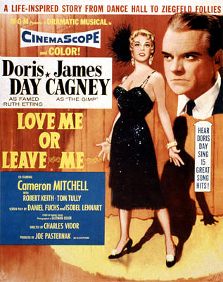 Love Me Or Leave Me Photograph - Love Me Or Leave Me, Poster Art, Doris by Everett
