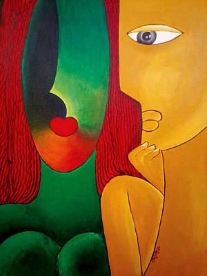Love Art Print by Nagabhushanam Chintha