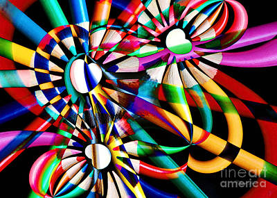 Photograph - Love Of Color Abstract by Cheryl Davis
