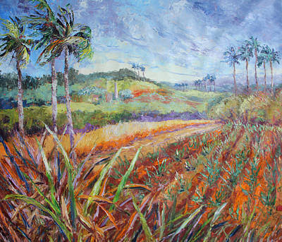 Painting - Love Of The Land by Susan Mains