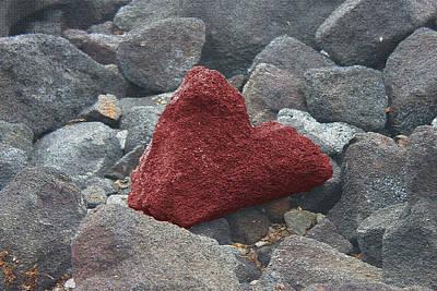 Hawaii Photograph - Love On The Rocks by Caroline Lomeli