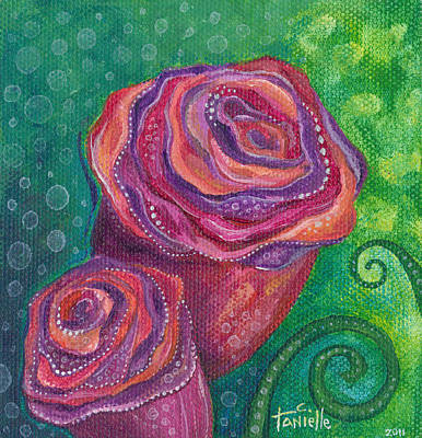 Painting - Love by Tanielle Childers