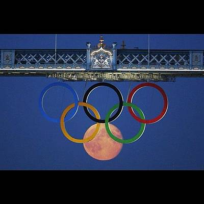 London2012 Photograph - Love The #olympics #london2012 by Cyril Attias