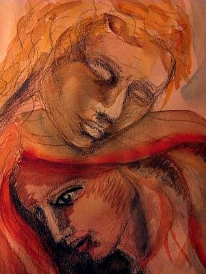 Volto Painting - Love by Valeria Giunta