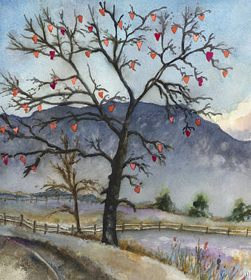 Love Warms Even The Coldest Day Original by Anne Gifford