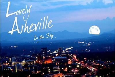 Michelle Obama Digital Art - Lovely Asheville by Ray Mapp