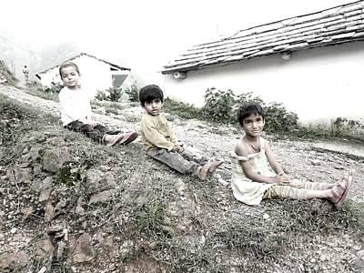 Photograph - Lovely Childhood by Hari Om Prakash