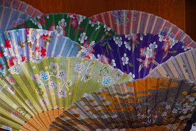 Lovely Fans In Tokyo Art Print
