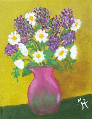 Painting - Lovely Lavender by Margaret Harmon