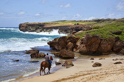 Mahaulepu Beach Photograph - Lovely Ride by Kelley King