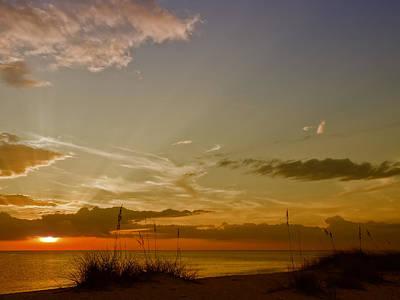 Colors Of Spring Digital Art - Lovely Sunset by Melanie Viola