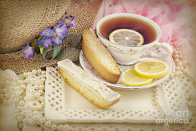 Photograph - Lovely Tea Party by Cheryl Davis