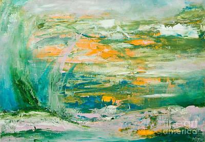 Lover's Land Of Hope Art Print by Martina Dresler