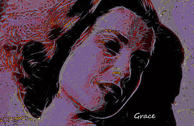 Grace Kelly Painting - Loves Shinning Through by Steve K