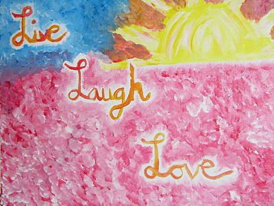 Loving Life Art Print by Hannah Stedman
