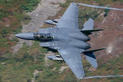 F15e Wall Art - Photograph - Low And Fast by Nigel  Blake
