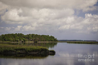 Photograph - Low Country Marsh Lands by David Waldrop