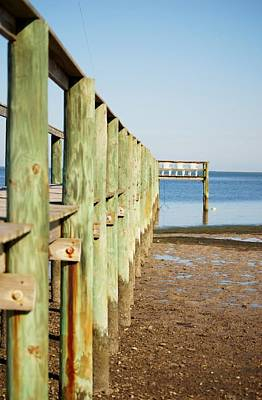 Photograph - Low Tide At Full Moon by Judy Hall-Folde