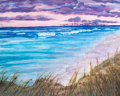 Low Tide Art Print by Jeanette Stewart