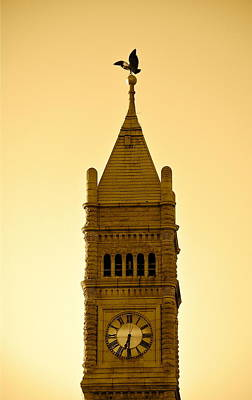 Lowell Clock Tower II Art Print