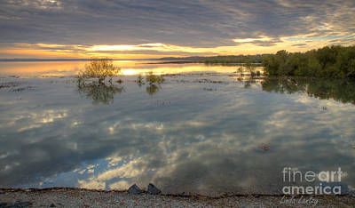 Photograph - Lowell Reflections by Idaho Scenic Images Linda Lantzy