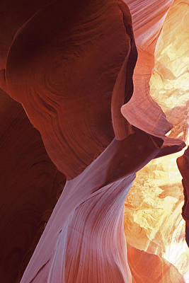 Photograph - Lower Antelope Canyon Abstract by Gregory Scott