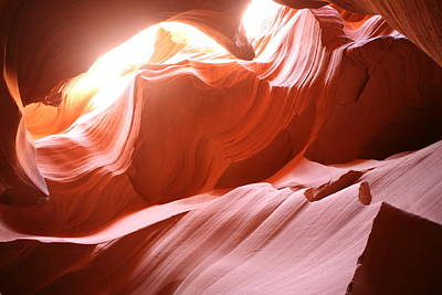 Antelope Photograph - Lower Antelope Canyon Forms by Gregory Scott