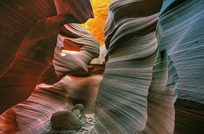 Flash Floods Photograph - Lower Antelope Slot Canyon by Dean Pennala
