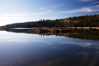 Photograph - Lower Blue Lake North Shore by Michael Courtney