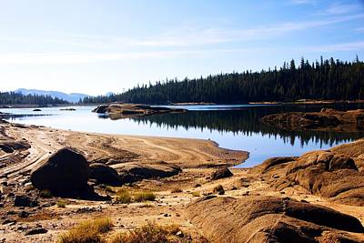 Photograph - Lower Blue Lake Outlet by Michael Courtney