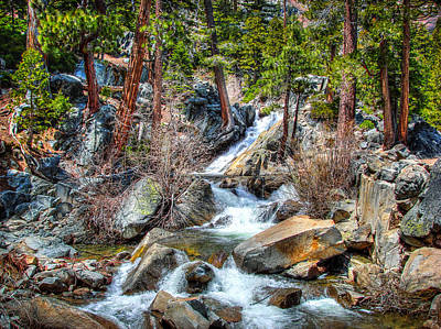 Emerald Bay Photograph - Lower Eagle Falls Emerald Bay Lake Tahoe by Scott McGuire