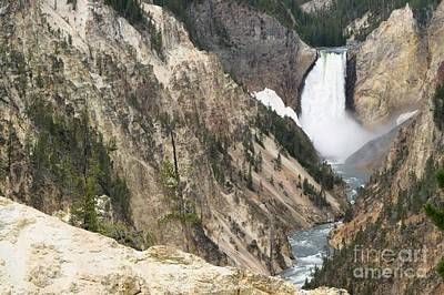 Photograph - Lower Falls Another View by Living Color Photography Lorraine Lynch