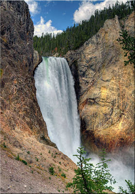 Lower Falls, Grand Canyon Of Yellowstone Art Print by Jill Clardy