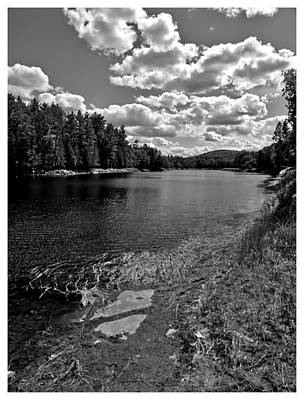 Lower Madawaska River Art Print by Yves Pelletier