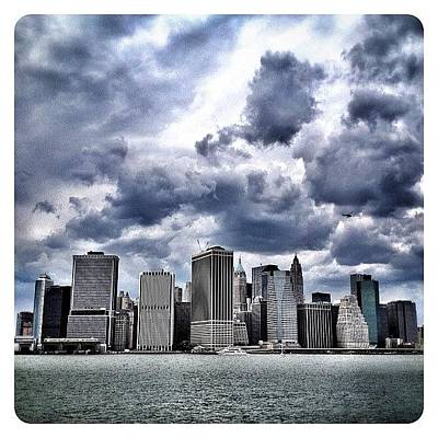 Skyscraper Wall Art - Photograph - Lower Manhattan Skyline by Natasha Marco