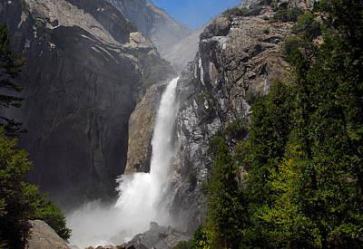 Photograph - Lower Yosemite Falls 2 by Lynn Bauer