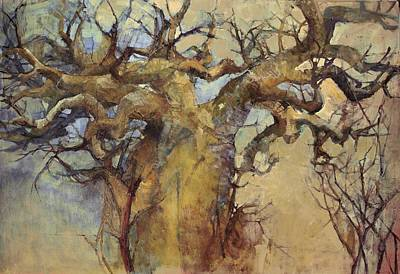 Baobab Painting - Lowveldt by Wendy Rosselli