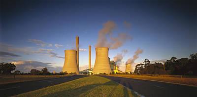 Loy Yang Power Station, Coal Burning Art Print by Jean-Marc La Roque