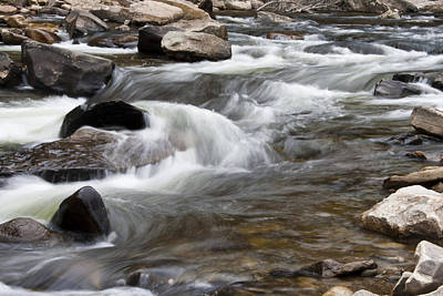 Loyalsock Creek Gentle Rapids Art Print