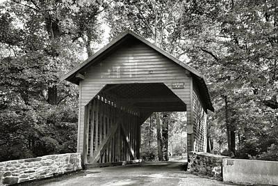Loy's Station Bridge II Art Print by Steven Ainsworth
