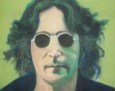 Lsd John Lennon Art Print by Fernando A Hernandez