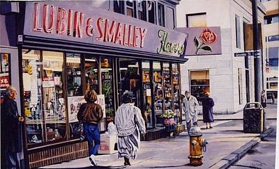 Painting - Lubin And Smalley by James Guentner