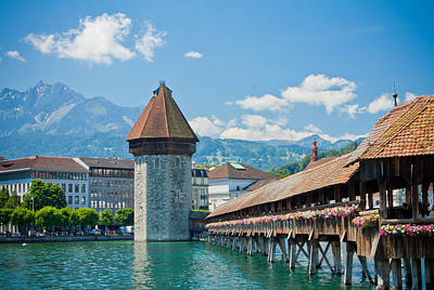 Photograph - Lucerne In Spring by Anthony Doudt